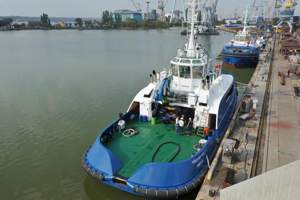 ССЗ «НІБУЛОН» розпочав будівництво четвертого буксира проекту POSS-115