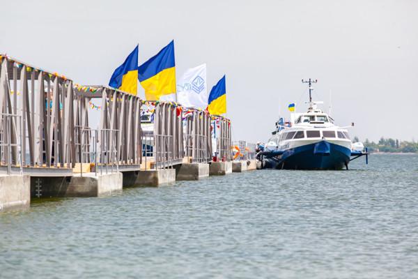 «НІБУЛОН» відкриває новий сезон пасажирських перевезень водою 2019