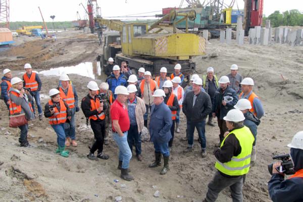 О. Вадатурський: «Термінал у Тернівці є найскладнішим будівельним об'єктом компанії»