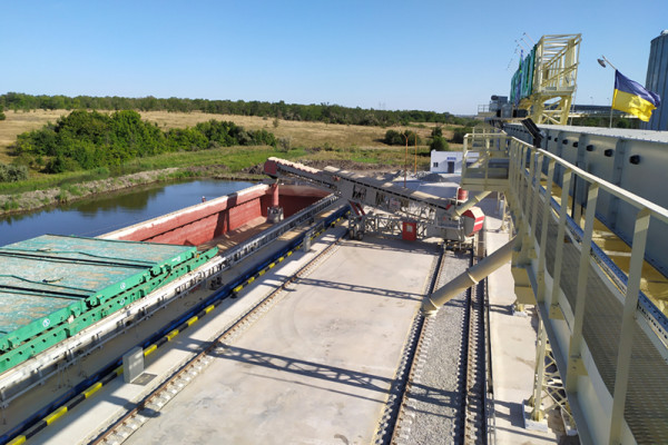 The Newly-Built Ternivska Branch is About to Receive 100 Thousand Tons of Grain