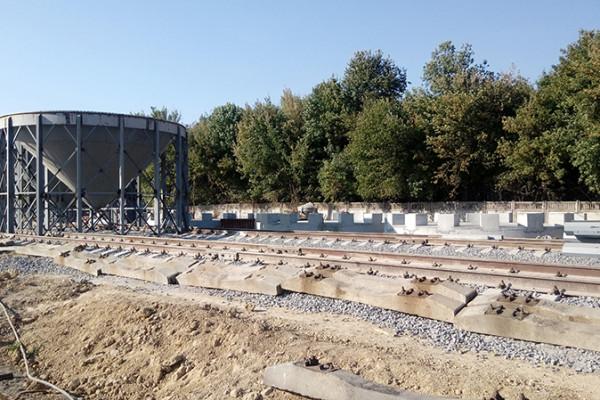 «НІБУЛОН» розпочав монтаж металоконструкцій перших ємностей нового комплексу з приймання у Хмільнику