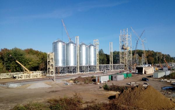 Будівництво нового комплексу компанії в Хмільнику в самому розпалі