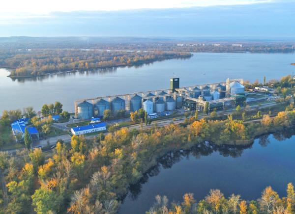 Філія «Кременчуцька» прийняла 1,5 мільйона тонн збіжжя