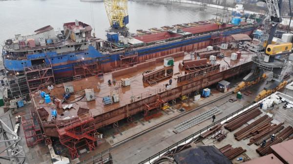 Компанія «НІБУЛОН»  продовжує успішно реалізовувати суднобудівну програму