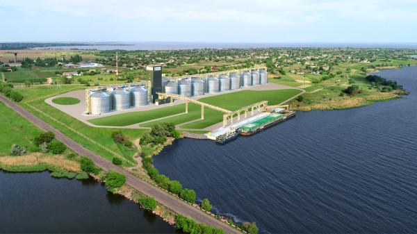 «НІБУЛОН» на Дніпропетровщині: компанія будує новий перевантажувальний термінал на річці Дніпро