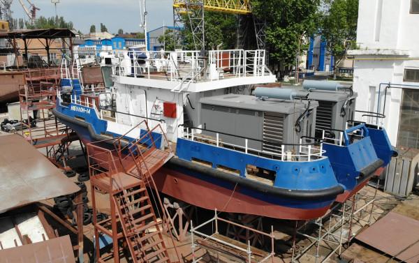 Розбудова сучасного українського флоту триває