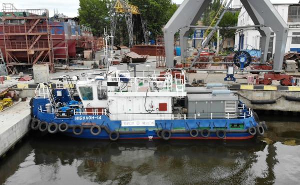 Друге судно проєкту Т410 на воді