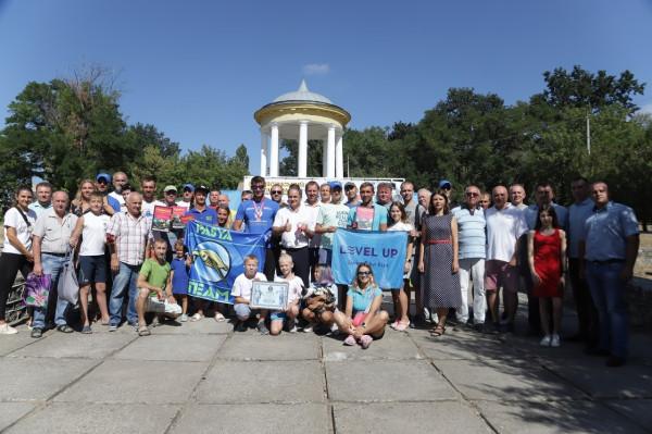 За підтримки «НІБУЛОНа» на Південному Бузі відбулися змагання з плавання на рекордній для України дистанції у 50 км