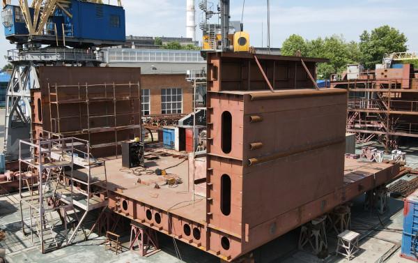 На суднобудівному заводі «НІБУЛОН» розпочали зведення нового замовлення