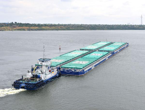 «НІБУЛОН» встановив новий рекорд з річкових перевезень