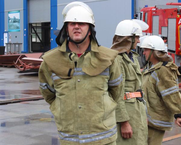 На суднобудівно-судноремонтному заводі «НІБУЛОН» відбулися масштабні навчання пожежної охорони