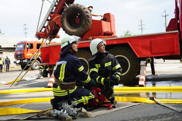 На ТОВ «Старобільський елеватор» успішно пройшли тактико-спеціальні навчання з пожежної безпеки