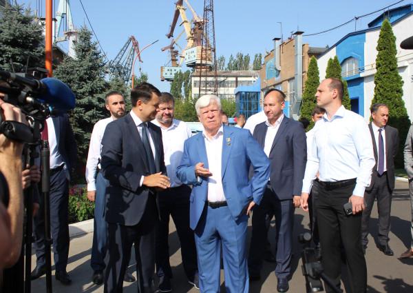 «НІБУЛОН»  продемонстрував Голові Верховної Ради України міць національного суднобудування