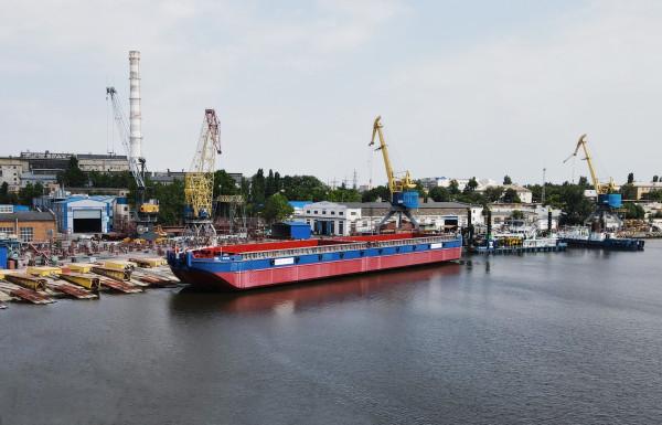 На ССЗ «НІБУЛОН» відбувся спуск судна модернізованого проєкту В5000М