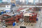 На суднобудівному горизонті вже видніються фарбувальні роботи