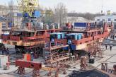 У суднобудівників замайорів спуск на воду