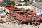 Фінішує будівництво корпусу першого судна проекту NBL-91