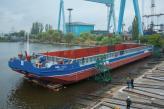 Рубіж у півсотні пройдено!  – на суднобудівно-судноремонтному заводі «НІБУЛОН» відбувся спуск нового судна
