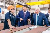 «Важливо сьогодні з боку влади створити нормальні умови, для того щоб бізнес  абсолютно спокійно розвивався»: В. Гройсман відвідав суднобудівний завод «НІБУЛОН»