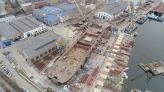ССЗ «НІБУЛОН» розпочав формування другого ярусу секцій міцного корпусу 140-метрового плавкрана