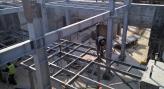 На будівельному майданчику в Тернівці розпочато монтаж металоконструкцій