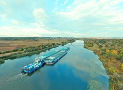Поставленої мети – 3,5 млн тонн вантажів водним транспортом – досягнуто!